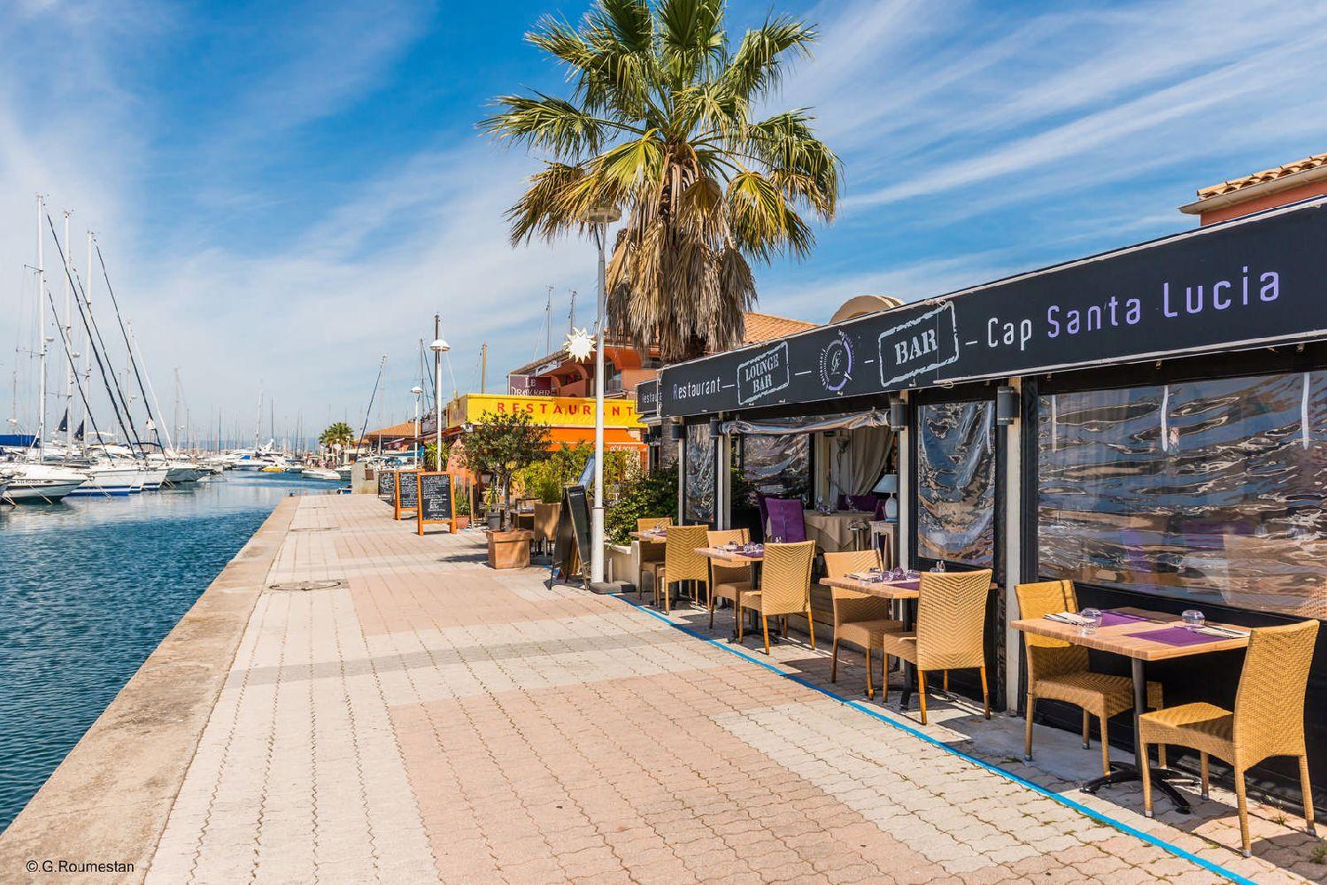 Cap santa lucia - Restaurant port santa lucia st raphael ...