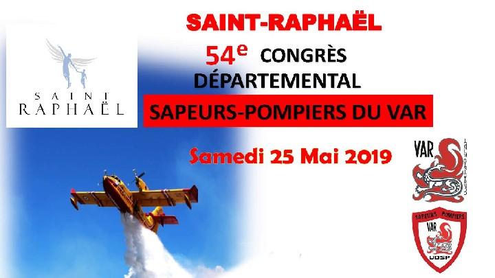 54e Congrès Départemental sapeurs-pompiers du Var