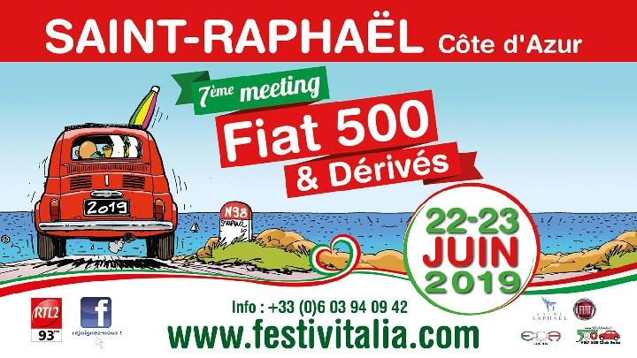 7 ème Meeting Fiat 500 & Dérivés