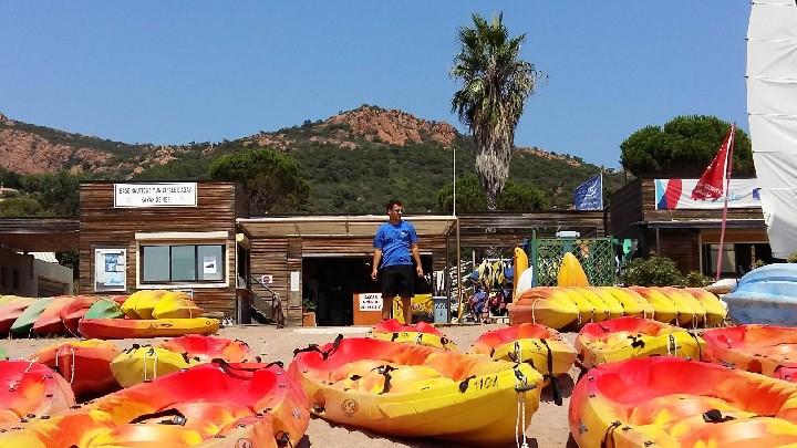 Base nautique municipale d'agay