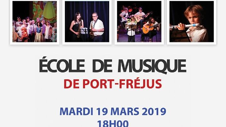 Concert de l'école de musique de Port-Fréjus