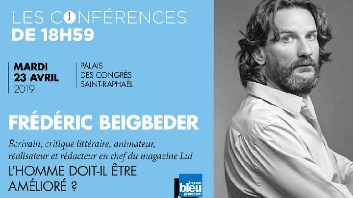 Conférence de 18h59 : Frédéric Beigbeder
