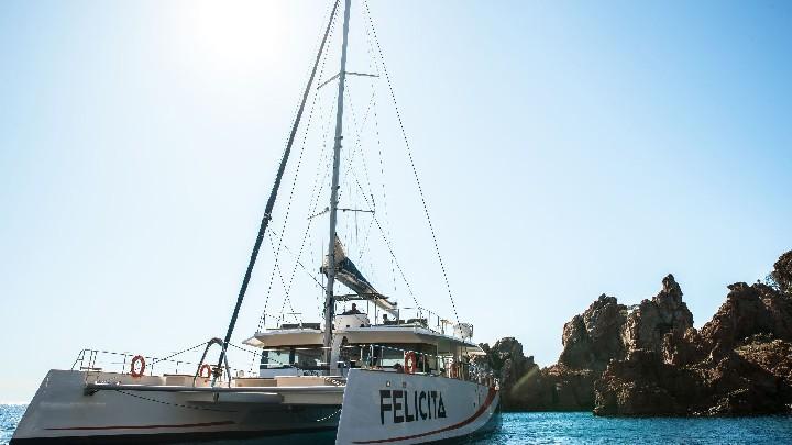 Demi-journée en maxi catamaran