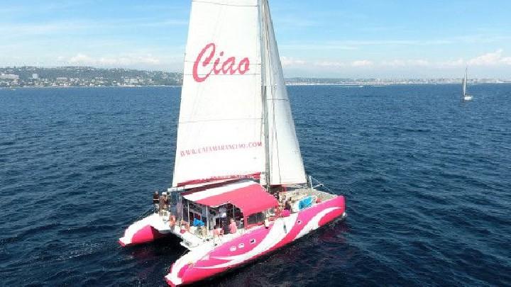 Excursion en catamaran - Coucher de soleil