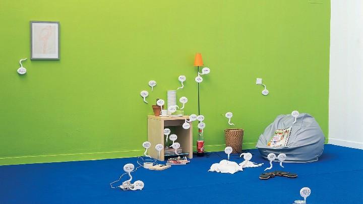 Exposition d'art contemporain « Choses faites »