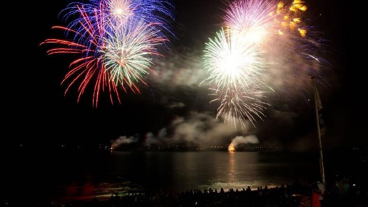 Fuochi d'artificio Agost