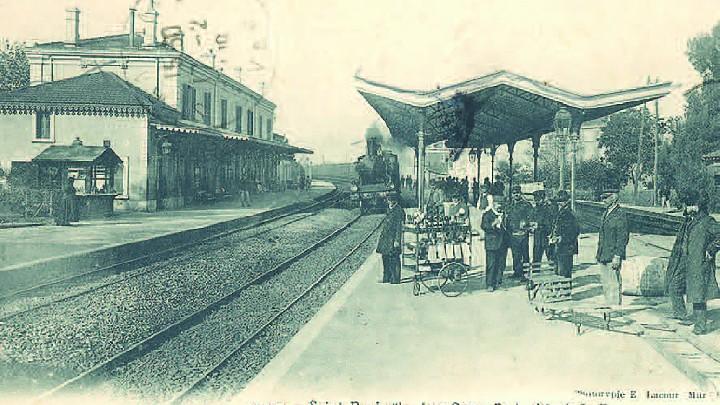 L'arrivée du chemin de fer à Saint-Raphaël