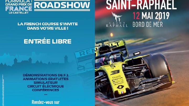 Raodshow Formule 1 Renault
