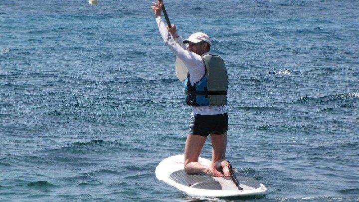 Stand up paddle géant