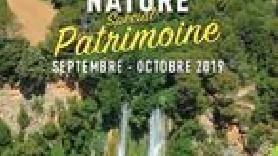 flyer sorties nature spécial patrimoine
